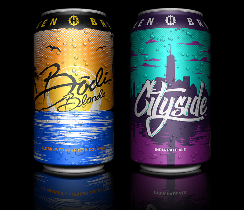Bodi Blonde Ale and Cityside IPA