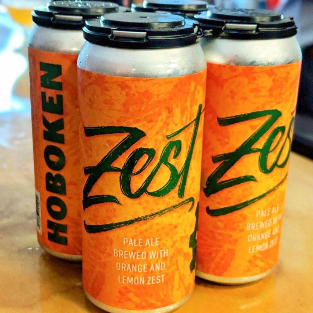 Hoboken Brewing Zest Pale Ale